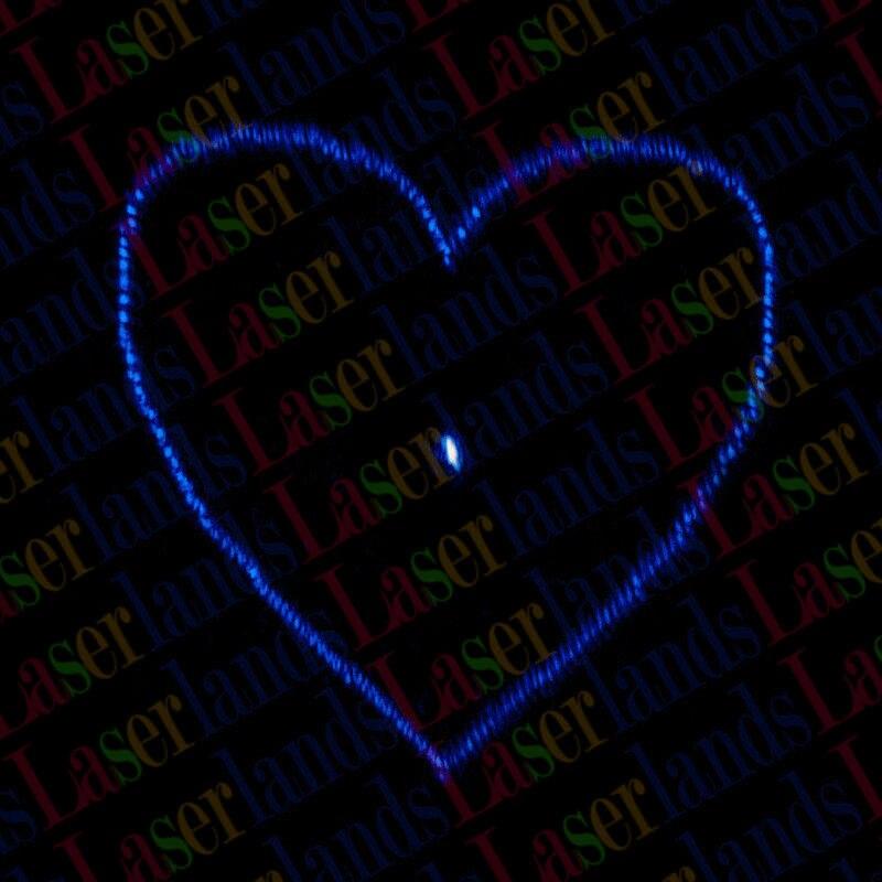 20pc Heart Diffraction Gratings Coated Glass Lens f Laser Stage Lighting DJ Show j1108bfbg dj f j1108bdse