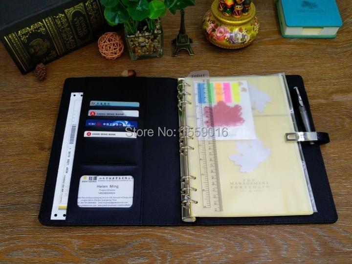B5 Folder notebook