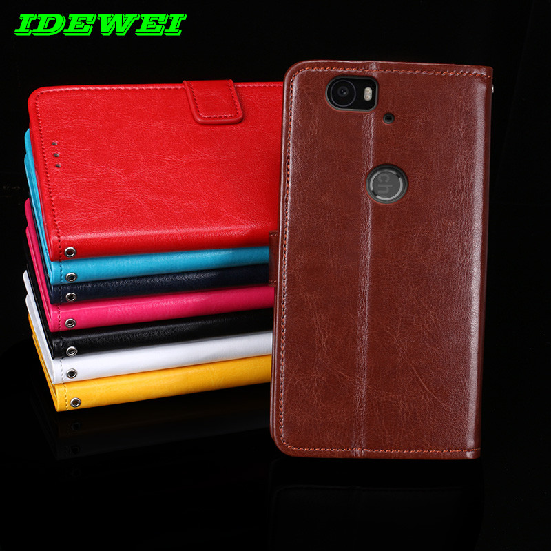 competitive price 9dd5c 2f3f1 US $4.38 12% OFF|Flip back Skin phones capa For coque Huawei Nexus 6P case  leather & silicone wallet stand pouch For Google Nexus 6P cover fundas-in  ...