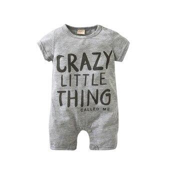 2018 New Fashion baby Romper unisex cotton Short sleeve newborn baby clothes jumpsuit Infant clothing set roupas de