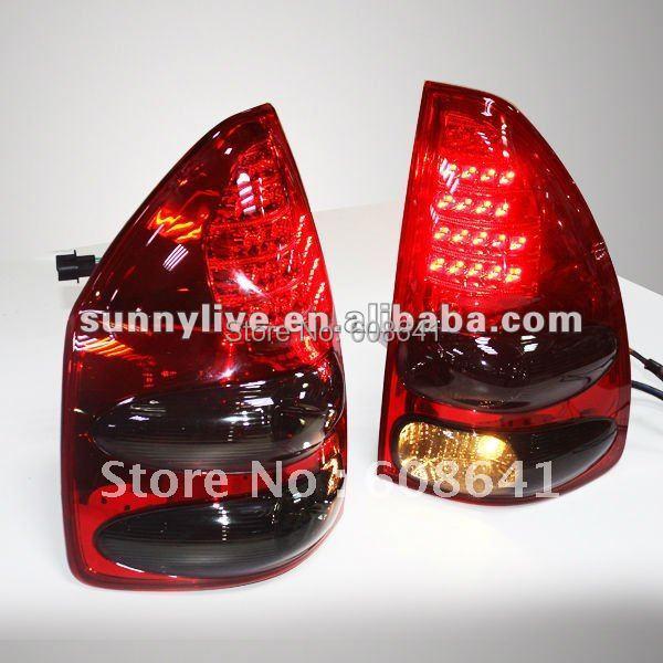 Pro TOYOTA Prado FJ120 LED zadní světlo červené zadní typ