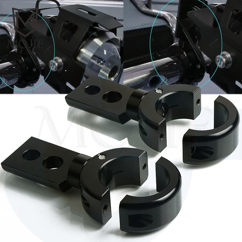 Support de conduite d'antibrouillard de voiture 22/25/28mm pour SUV ATV support de montage de phare de moto tout-terrain camion LED projecteur de barre de lumière de travail