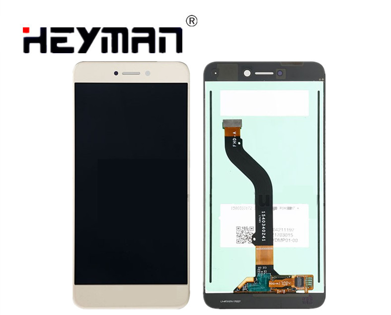 Heyman LCD for <font><b>Huawei</b></font> Honor 8 Lite (Gold,with touchscreen PRA-LA1, PRA-LX2, PRA-LX1, PRA-LX3)LCD <font><b>Screen</b></font> and Digitizer Assembly image