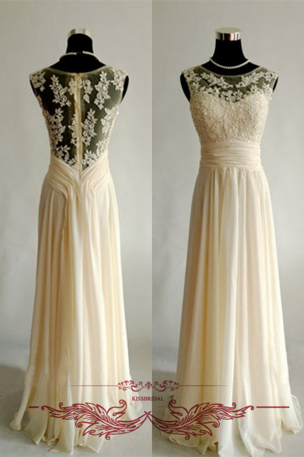 Popular Prom Dress Cream-Buy Cheap Prom Dress Cream lots from ...