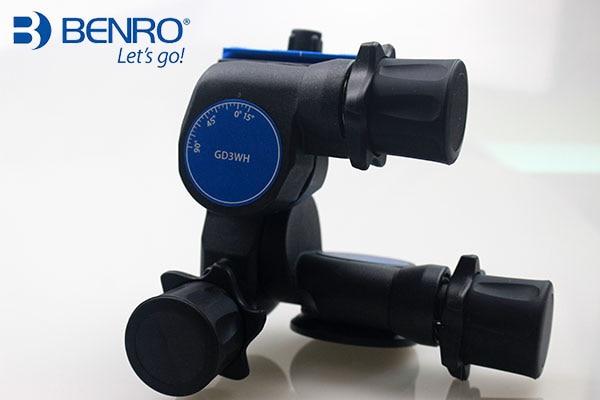 Benro Pro 3 Vie Orientata Ingranaggio Testa del Treppiede GD3WH - 3