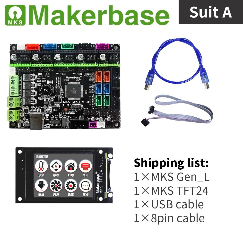 Billiger Preis Mks Gen_l Und Mks Tft24 Kits Für 3d Drucker Entwickelt Durch Makerbase Krankheiten Zu Verhindern Und Zu Heilen 3d-drucker Und 3d-scanner