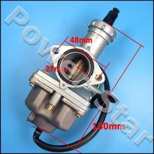 PZ27 Lever Choke Carburetor For 100 125 150 175 200 250cc Carb Chinese Taotao Sunl atv Hand Choke Lever