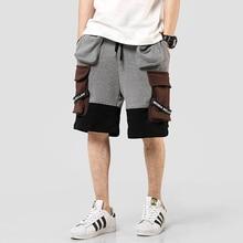 New Multi-Pockets Stylish Men's Cargo Short-Pants Hip Hop Su