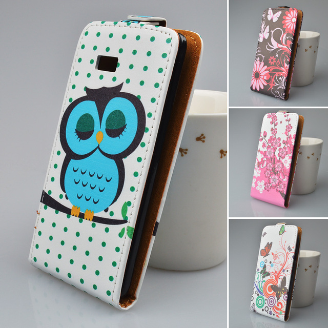 Cover For HTC Desire 600 Dual Sim 606W Leather case Painting Vertical Magnetic Cover For HTC 600 Mobile phone bag&Protective