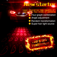 New Car Styling Motorcycle Anti Collision Rear End Car Laser Tail Car Led Fog Light Convertible