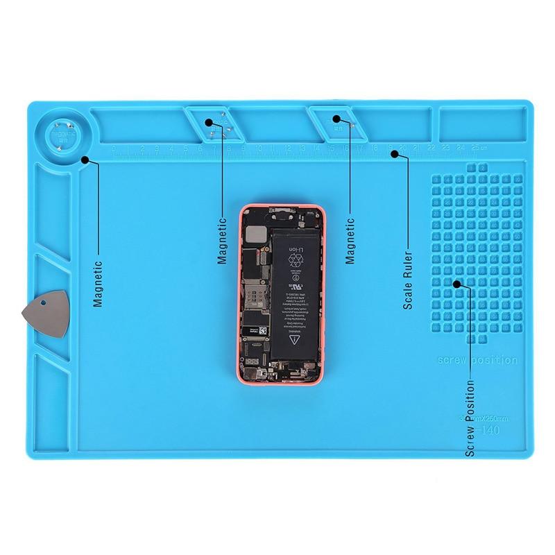 Tappetino magnetico per riparazioni per riparazioni per telefoni - Set di attrezzi - Fotografia 5