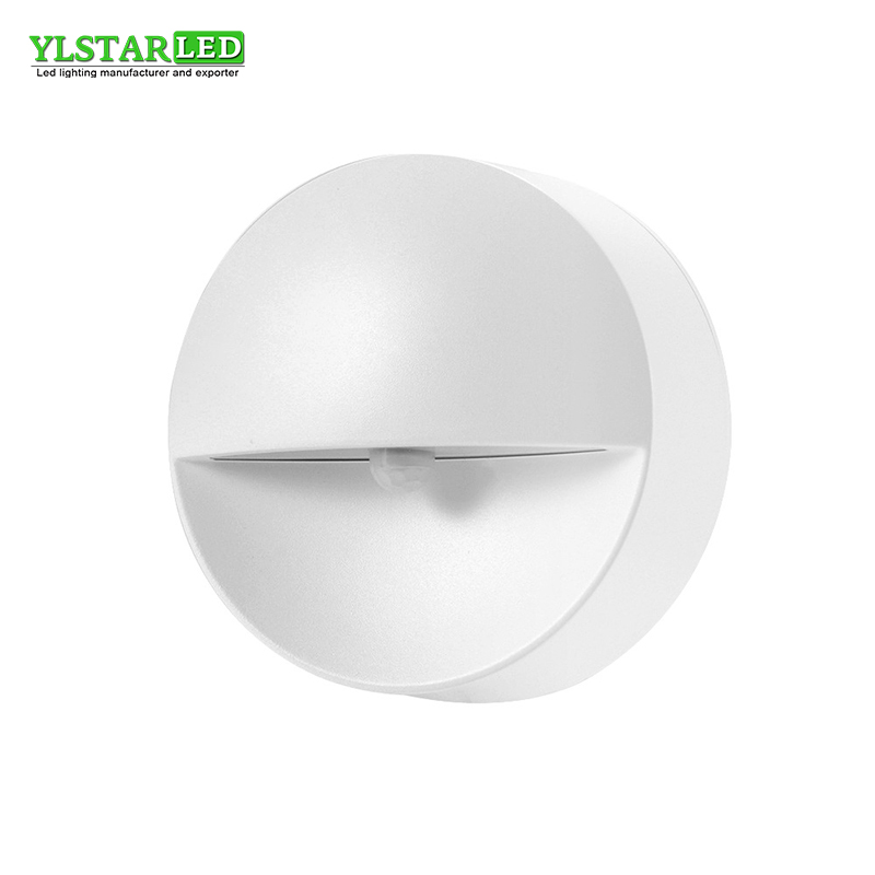 YLSTAR Free shipping Battery Sensor PIR Wireless Small LED Light Baby Kids Night Wall Lamp for Children Room Stairs Furniture