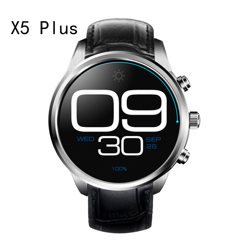 Finow X5plus Smart Watch font b Phone b font support Android 5 1 MTK6580 1GB 8GB