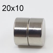 2/5/10/50 Pcs 20x10 Neodymium Magnet 20mm x 10mm N35 NdFeB Round Super Powerful Strong Permanent Magnetic imanes Disc 20x10 48pc 2 5kg pulling ndfeb magnet dia 10mm 12mm and 16mm magnetic pots with thread neodymium permanent strong holding magnet
