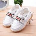 Нового мальчик девочка скольжения туфли-loafers оксфорд на плоской подошве дети мода кроссовки мокасины кроссовки ( малыш / маленький ребенок )