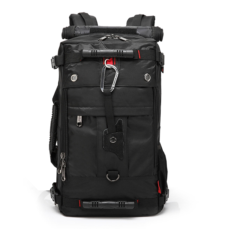 Brand Design Men's Travel Bags Fashion Men Backpacks Men's Multi-purpose Travel Backpack Multifunction Shoulder Bag