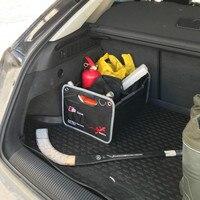 Kofferbak tas Doos Voor Audi Sline A1 A3 A4 A5 A6 A7 S3 S5 S6 B6 B8 B5 C5 C6 TT Q5 Q7 Q3 R8 8 P 8L 8 V R8 RS Quattro Auto accessoires