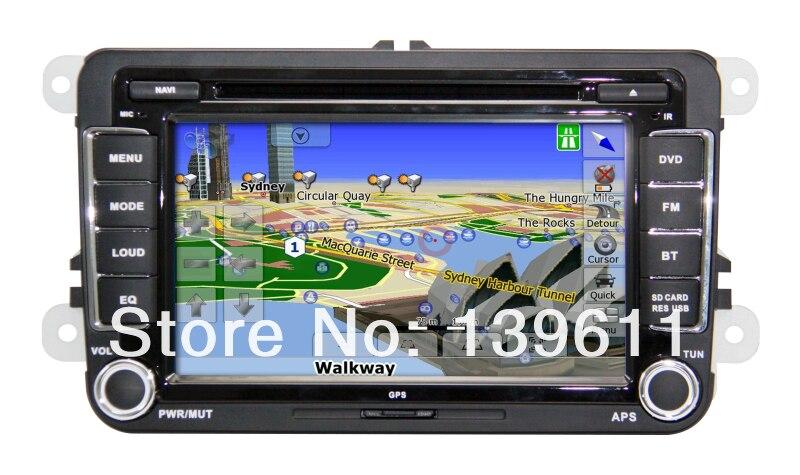 ZESTECH Car Auto Multimedia DVD Player for VW GOLF DVD GPS player with BT IPOD TV