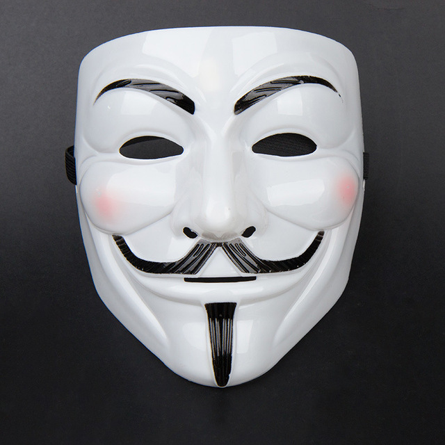 Minch 15 Styles Cool V For Vendetta Mask Guy Fawkes Anonymous Halloween Fancy Dress Costume Cosplay Venetian Carnival Mask