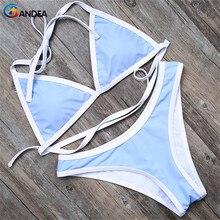 Bandea бикини бренд сексуальные купальники женщины высокого среза купальник бразильский bottom купальный костюм твердые купальный костюм для женщин ha500