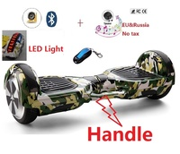 6 5 Inch Adult 2 Wheel Electric Scooter Bluetooth Skateboard Self Balancing Scooter Hoverboard Standing Hover