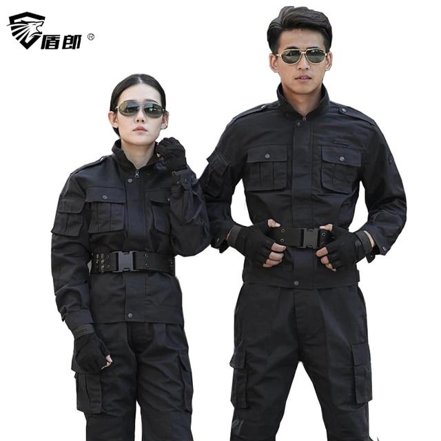 Военная форма тактический бой Униформа черная Униформа Militar Tatico Мультикам CS костюмы боевой рубашка Охота Одежда для мужчин