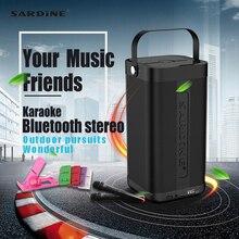 Сардины A9 портативный динамик bluetooth 5200 мАч 16 Вт высокой мощности беспроводной динамик поддержка формат музыки без потери качества TF карты удивительный звук коробка
