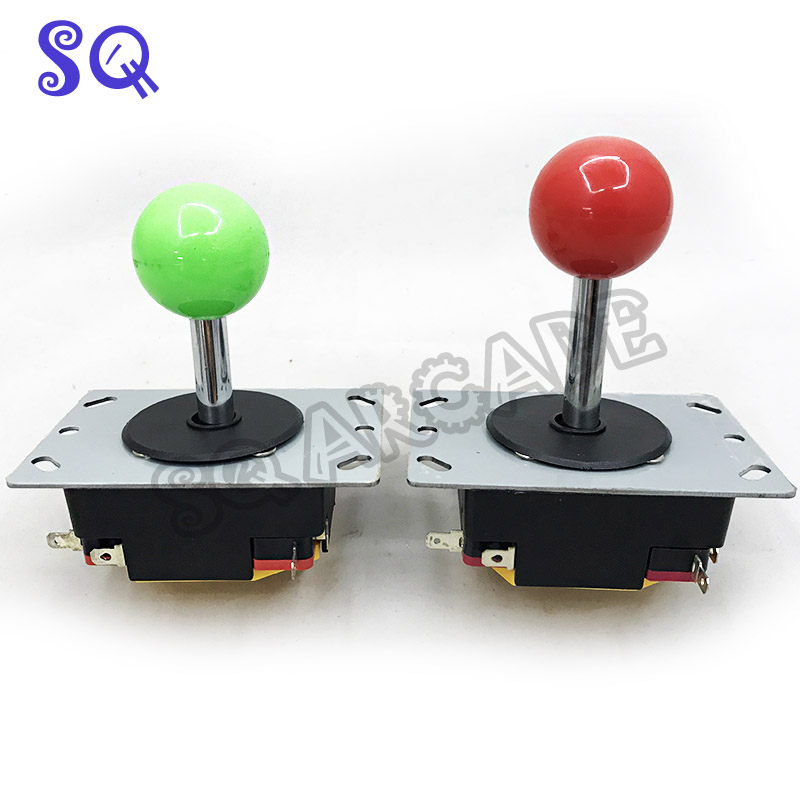 KOF Arcade Joystick DIY Joystick 2 Colors Ball Joystick Fighting Stick Parts for Game Arcade