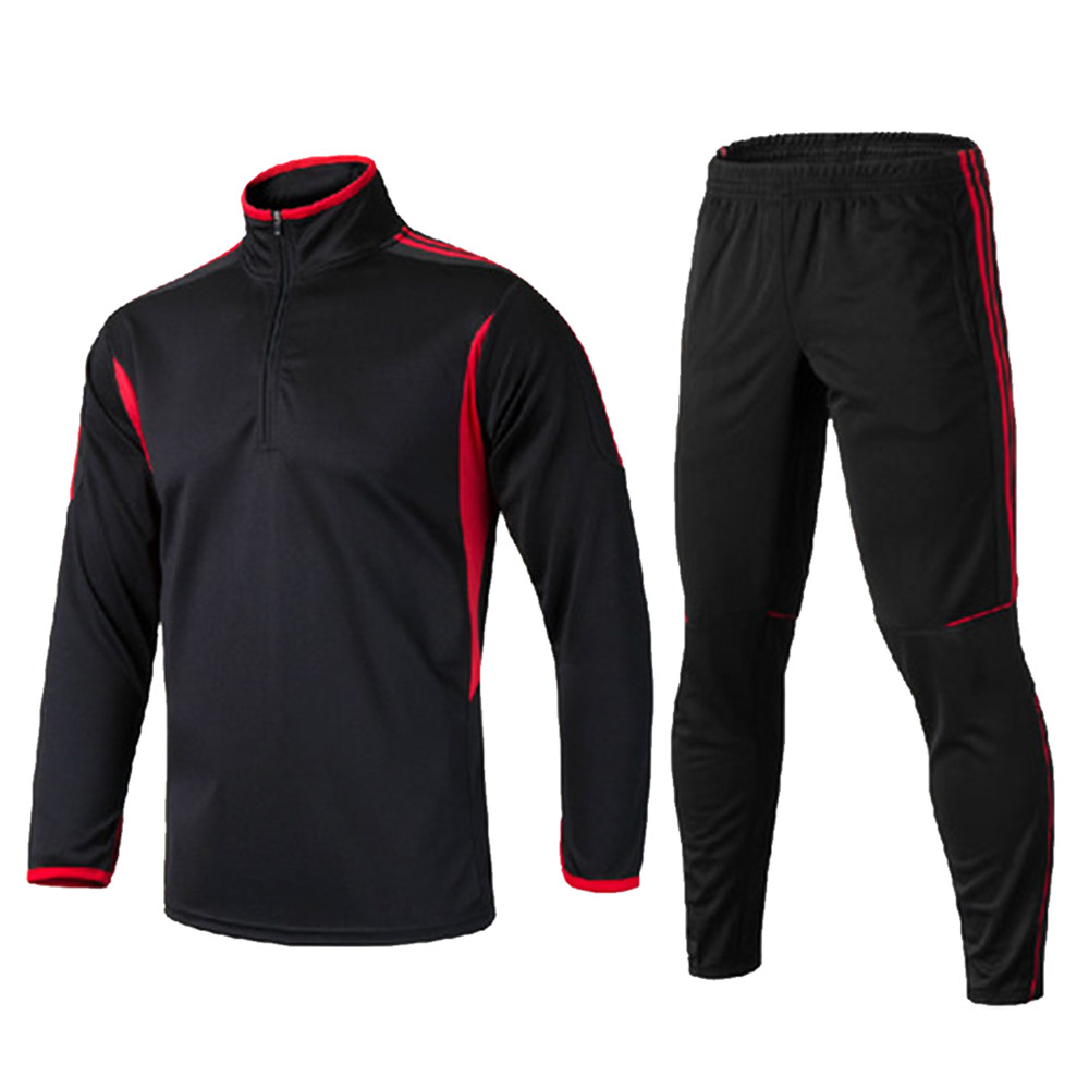 Men Kids Soccer Sets Tracksuit Survetement Football 2018 Sports Kit Jerseys Futbol Jackets Training Pants maillot de foot Zipper 2015 camisetas de futbol survetement soccer jerseys