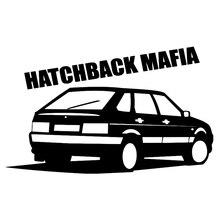 CK2196#20*12cm hatchback mafia 2114 funny car sticker vinyl decal silver/black car auto stickers for car bumper window car decor ck2192 20 13cm coupe mafia 2108 car sticker vinyl decal silver black car auto stickers for car bumper window car decoration