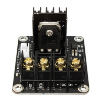 3D Printer Parts General Add On Heated Bed Power Expansion Module High Power Module Expansion Board