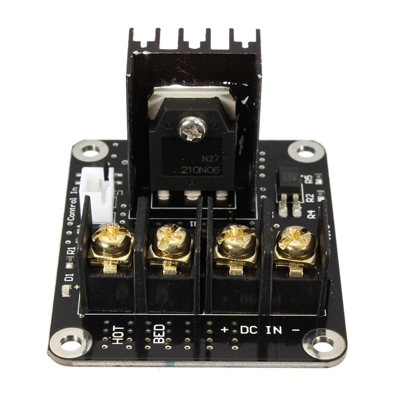 3D Printer Parts General Add on Heated Bed Power Expansion Module High Power Module expansion board 3d printer parts general add on heated bed power expansion module  at crackthecode.co