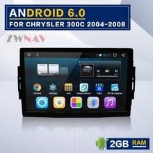 9 »Android 6,0 Оперативная память 2 ГБ стерео gps навигации радио для Jeep Grand Cherokee Патриот Dodge Зарядное устройство Chrysler 300C dvd-плеер