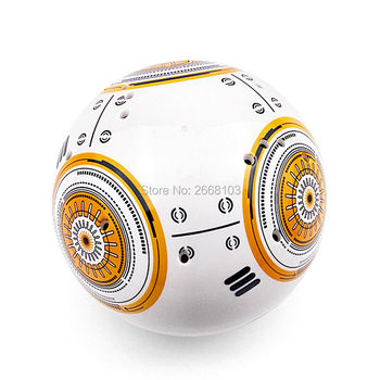 New Version Upgrade Model Ball RC BB-8 Droid Robot BB8 Intelligent Robot 2.4G Remote Control Toy For Girl Gift With Sound Action 5