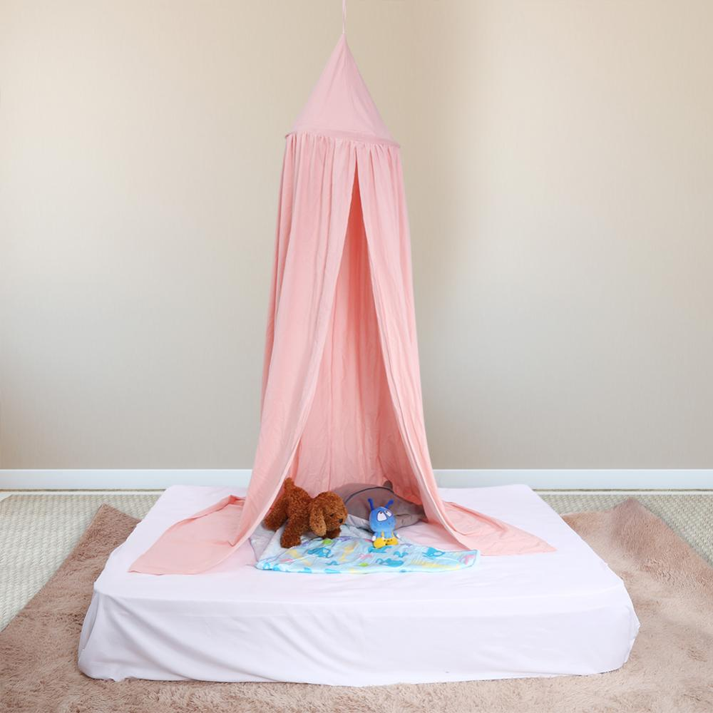 Kid Bed Canopy Bed Curtain Round Dome Hanging Mosquito Net Curtain Moustiquaire Zanzariera For Baby Kids