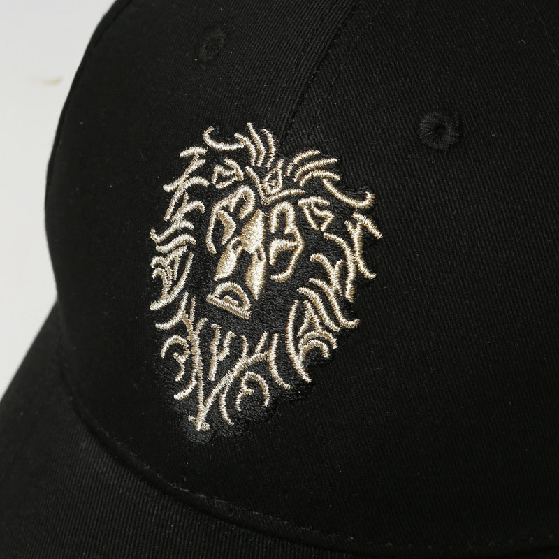 Lion Embroidery Pattern Baseball Cap Women Men Solid Color Cotton Hat Unisex Fashion Casual Adjustable Sunscreen Caps CP0115  (8)