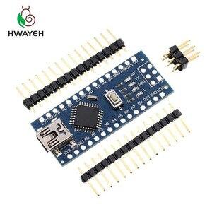 Image 2 - MINI USB Nano V3.0 ATmega328P CH340G 5 V 16 M carte Micro contrôleur pour arduino NANO 328 P NANO 3.0