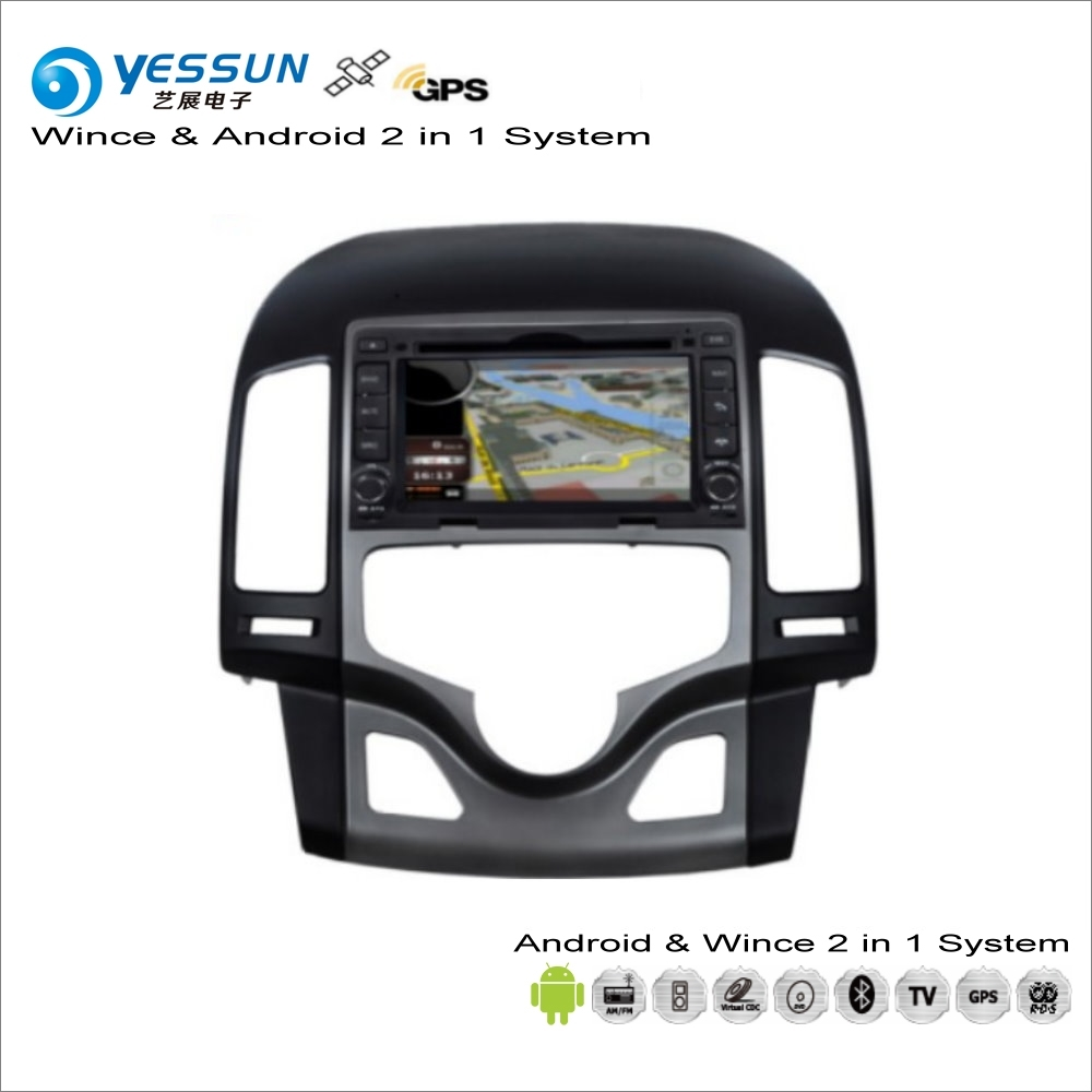 YESSUN For Hyundai i30 / Elantra Touring 2007~2011 Auto AC Car Android Multimedia Radio CD DVD Player GPS Navi Navigation Audio
