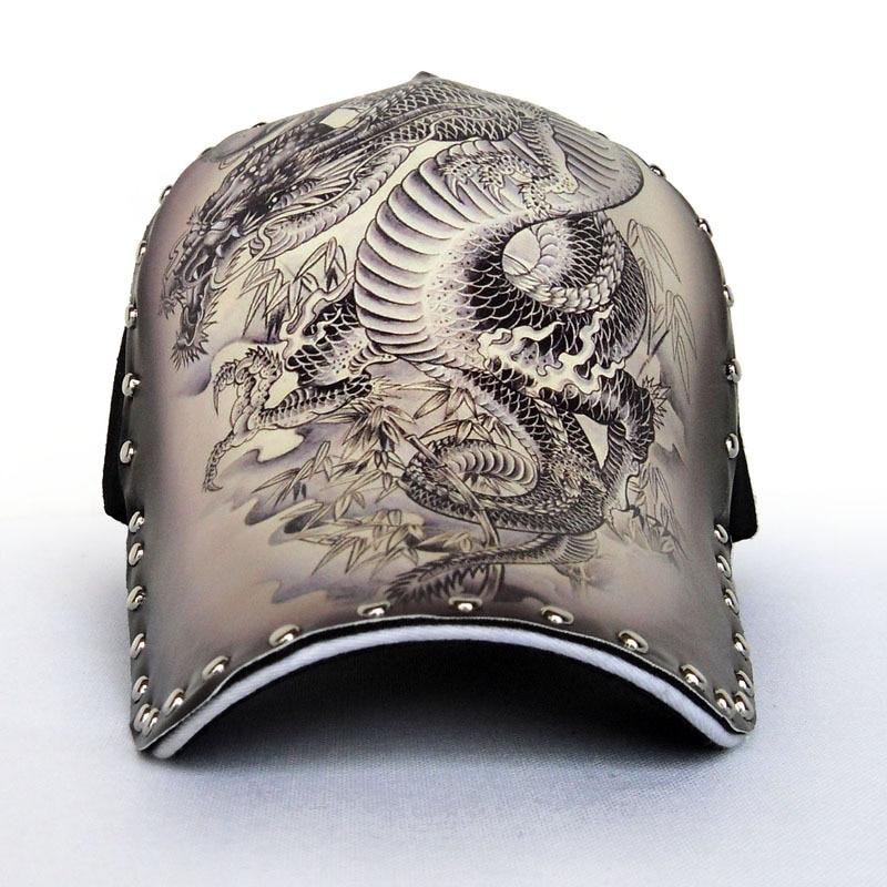 Prix pour 2017 Chinois Style Baseball Caps Avec Rivet Peinture À L'encre Unisexe Casual Nouveaux Arrivent Snapback Chapeaux Pour Hommes Femmes Gorras CH118