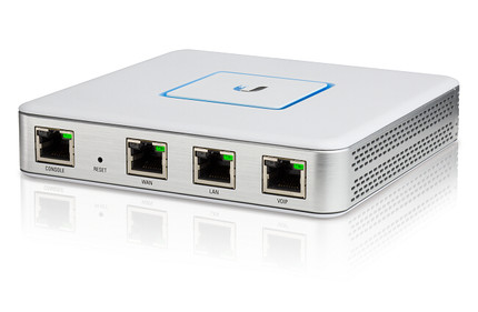 UBNT UniFi Security Gateway USG 1WAN 1LAN 1VOIP With Managed