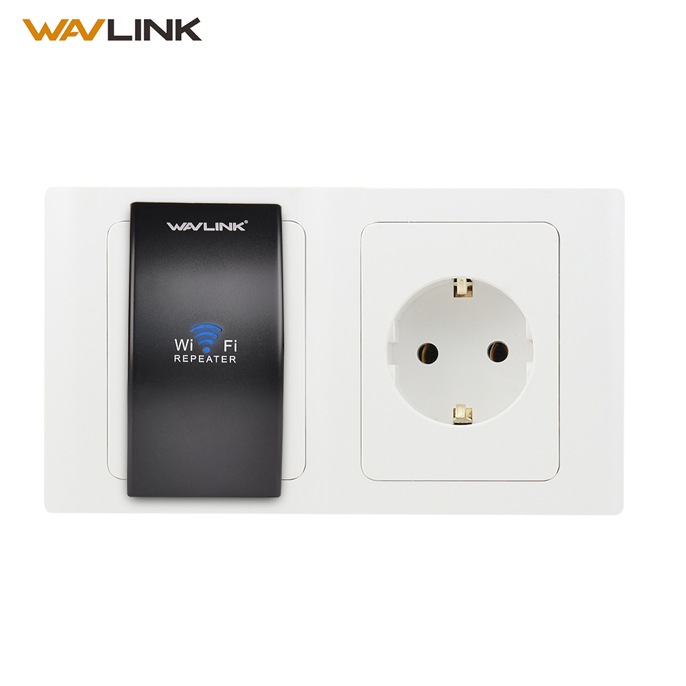 Wavlink N300 Compact Size Wireless Wifi Repeater Signal Amplifier 802.11n b Extender Router Wi fi Repeater EU US Plug with WPS