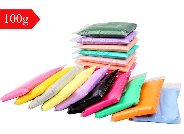 1pcs 100g Air Drying Plastic clay Plasticine Super Light Clay Polymer Educational Soft Play