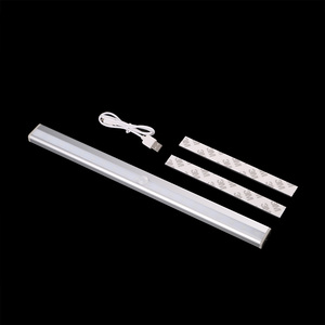 Image 4 - USB Rechargeable Wireless Motion IR Auto Sensor Emergency Night Lights White 20 LEDs Bar Closet Wall Light With Magnetic Strip