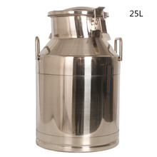 25L Stainless Steel Bucket, 20L Milk Can, Transport Can