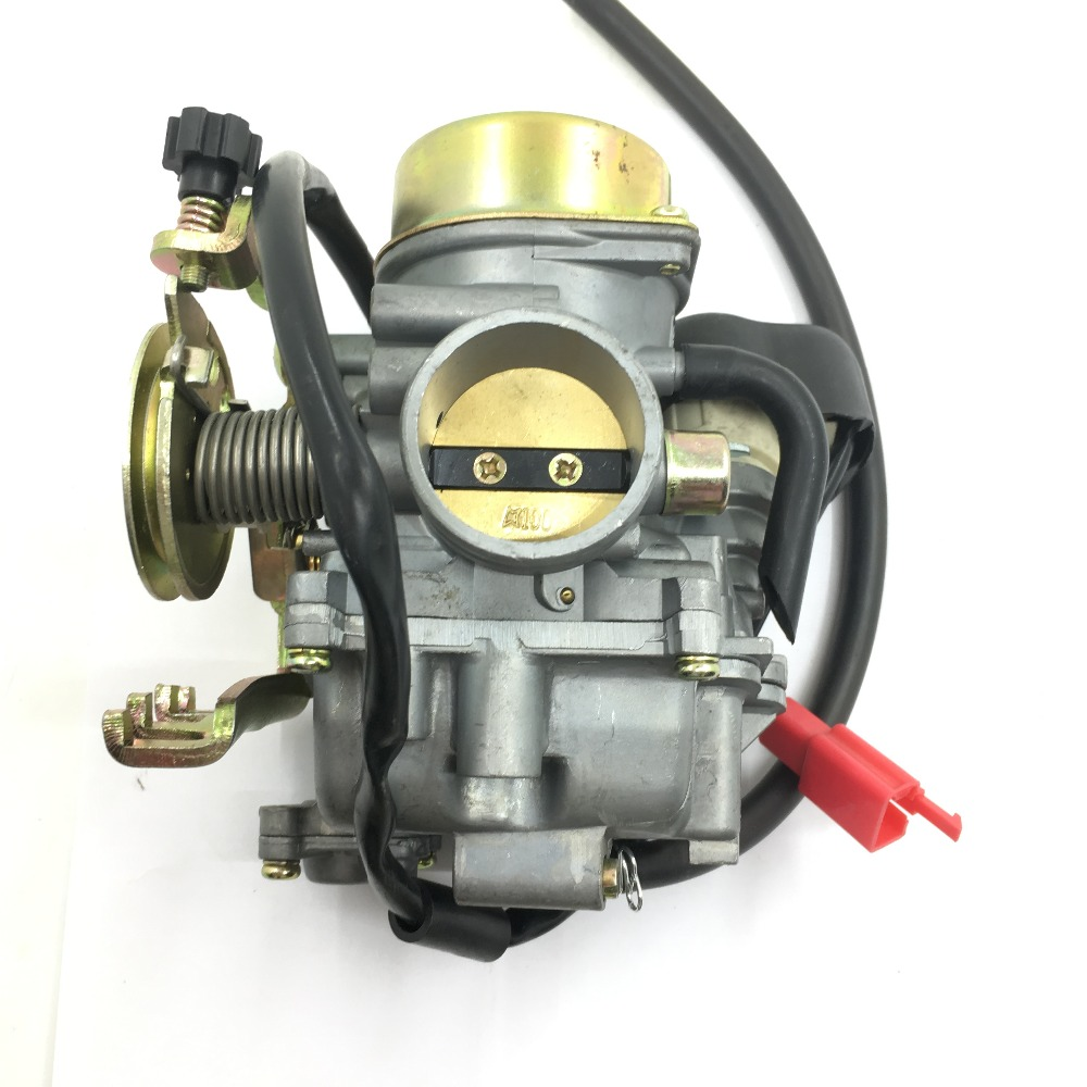 SherryBerg Carburetor Carb 250c Scooter Moped Motor 30mm YP250 For Yamaha Majesty 250 CVK30 cvk 30  replace keihin-in Carburetor from Automobiles & Motorcycles    1