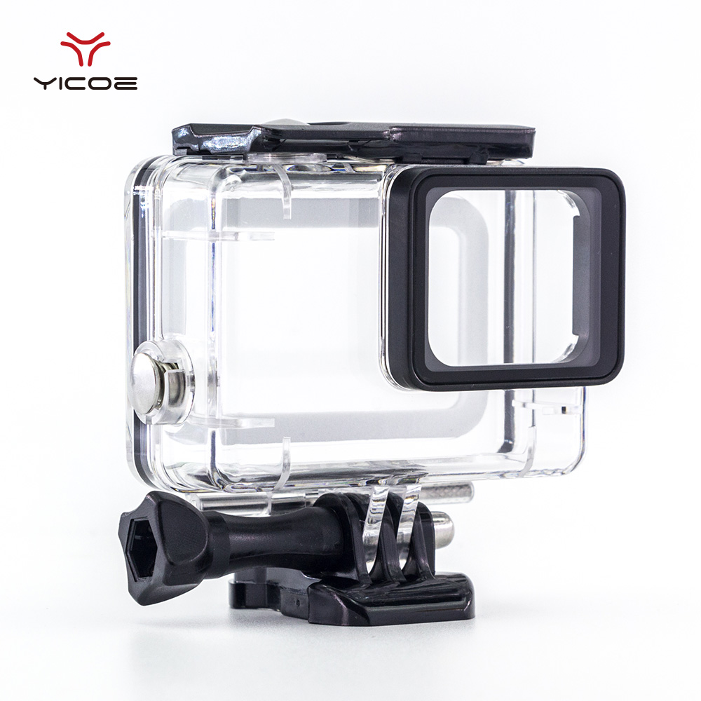 45M Underwater Waterproof Diving Protective Housing Case Cover House box for Gopro hero 6 5 Go Pro Hero 5 Action Sport Camera shoot 45m waterproof case for gopro hero 7 6 5 black action camera underwater go pro 5 protective case mount for gopro accessory