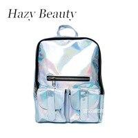 MM FOND PVC new design unisex backpack big size girls or boys shinning school bag chic bling stylish clear women bag A333