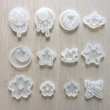 1Piece Resin Silicone Pendant Mold Sailor Moon Ornaments Handmade Jewelry Making Tool Mould(China)