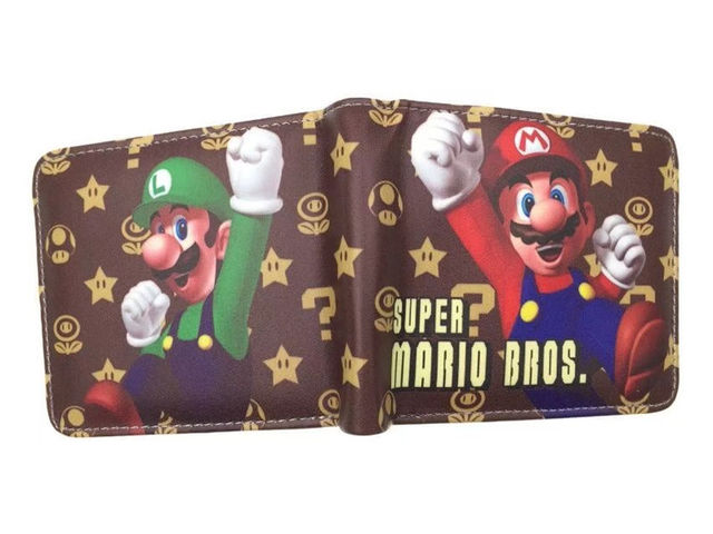 Super Mario Cartoon Wallet...