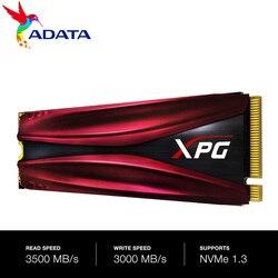 ADATA SSD M2 XPG S11 برو GAMMIX بكيي الجنرال 3x4 M.2 2280 محرك الحالة الصلبة لأجهزة الكمبيوتر المحمول سطح المكتب محرك الأقراص الصلبة الداخلي 256G 512G M.2 SSD